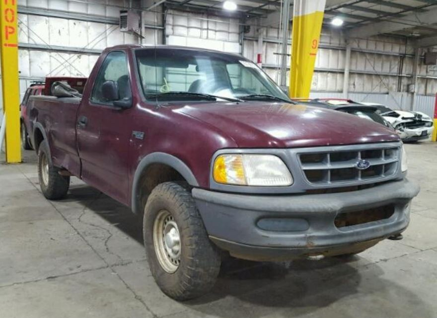 example of salvage trucks for sale