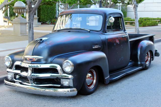 1953 Chevy with S-10 Chassis