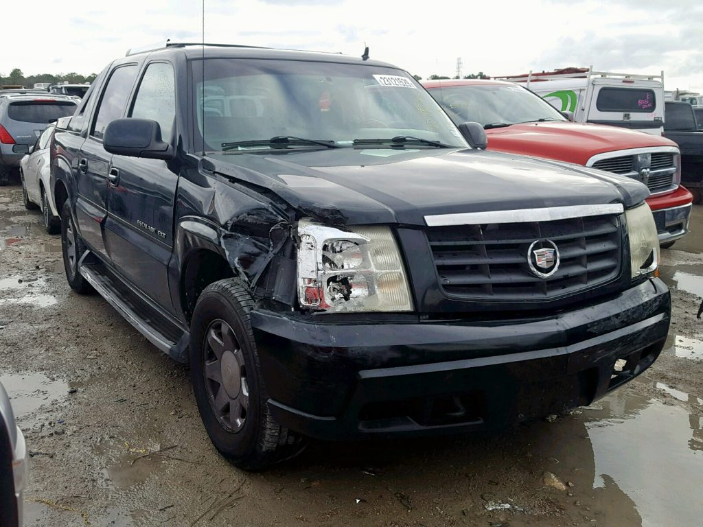 Salvage Title Escalade