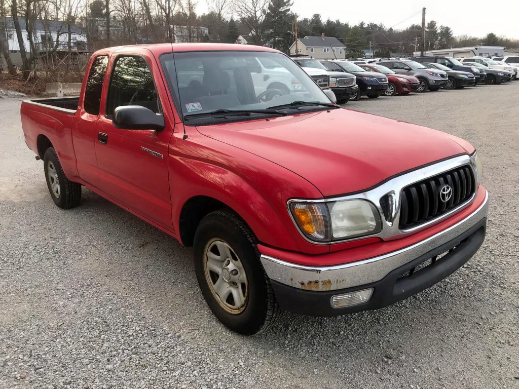 Salvage Toyota Tacoma Auction